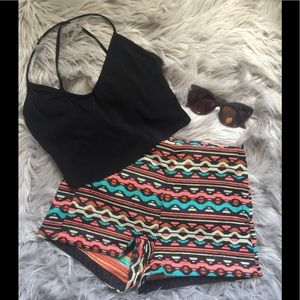 Coachella collection h&m shorts